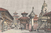 View of Bhaktapur - Bhadgaon - Temples (Nepal)