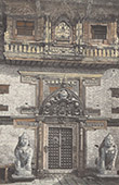 Royal Palace at Patan - Bronze Door - Lalitpur (Nepal)