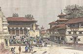View of Kathmandu (Nepal)