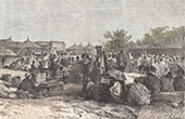 Marknad i Kayes (Mali)