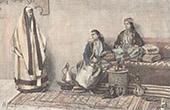 Traditionelle Kleidung - Frauen in Aleppo (Syrien)