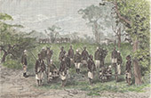 Artilleri n�stan Diana - Tirailleurs S�n�galais - Franska Sudan (Mali)