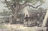Avr�ttnings av Soybou - Arkebusering - Tirailleurs S�n�galais - Franska Sudan (Mali)