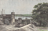 Train Station - Locomotives - French Sudan (Mali)