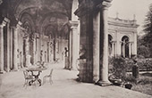 Villa Albani (Rome) - Interior of the Hemicycle