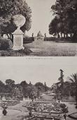 Villa Doria Pamphilj (Rome) - Vue - Basilique Saint-Pierre - Jardin du Casin