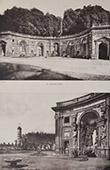 Villa Aldobrandini (Frascati - Latium) - Teatro delle Acque - Water Theater - Terrace - Hemicycle