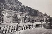 Villa Aldobrandini (Frascati - Latium) - Terrasse en  H�micycle