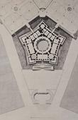 Palazzo Farnese - Caprarola (Rome) - Overall plan