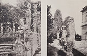 Palais Farn�se - Palazzo Farnese - Caprarola (Rome) - Jardin - Sculptures - Statues