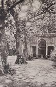 Villa Lante (Bagnaia - Latium) - Terrasse sup�rieure - Edicule