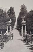 Jardin de Boboli - Giardino di Boboli (Florence - Toscane) - All�e - Entr�e de l'Ile Fleurie