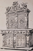 Antique carved wooden furnitures - Mythology (Toulouse)