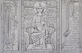 Miniatures - Charlemagne's Evang�listaire - Frontispiece - Christ in Majesty (St. Sernin in Toulouse)