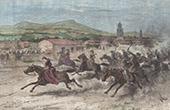 Pferderennen in Tarija - San Bernardo de la Frontera de Tarixa (Bolivien)