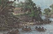 Paraguayische Holzfäller - Río Pilcomayo (Argentinien)