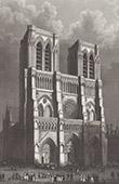 View of Paris - Cathédrale Notre Dame de Paris (France)