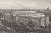 View of Paris - Avenue des Champs-�lys�es - Palais de l'Industrie et des Beaux-arts (France)