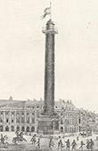 View of Paris - Place Vend�me - Vend�me Column (France)