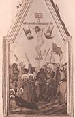 Pintura italiana - Crucifix�o de Jesus (Pietro Lorenzetti)
