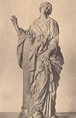 Italiensk Skulptur - Sankta Bibiane