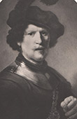Dutch painting - Portrait of the artist's brother (Rembrandt)
