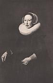 Dutch painting - Portrait of Gertrude Bisschoff (Thomas de Keyser)