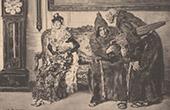 Italian painting - The Indiscreet (A. Casanova)
