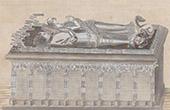 Grave of Olivier V de Clisson in Josselin - Brittany (Morbihan - France)