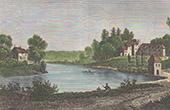 Gravures anciennes gravures de ille et vilaine - Piscine couverte nyon rennes ...