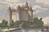 Combourg Castle - Brittany (Ille-et-Vilaine - France)