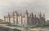 Courtrai Castle - Lille - Nord-Pas-de-Calais (North - France) - Destruction in 1577