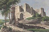 Château-Thierry Castle - Picardy (Aisne - France) - Ruins