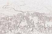 Napoleon Bonaparte Crossing the Alps through the Saint Bernard Pass - Napoleonic Wars (1800)