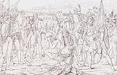 Mort de Desaix - Bataille de Marengo - Guerres Napol�oniennes (14 Juin 1800)