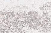 Guerres napoléoniennes - Bataille de Landshut - Passage du pont de Landshut (21 avril 1809)