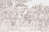Napoléon Reçoit les Clefs de la Ville de Vienne à Schönbrunn (1805)