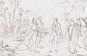 Bataille d'Austerlitz - Entrevue de Napoléon Ier et François II d'Autriche (1805)