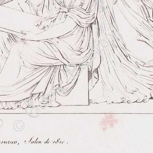 gravures anciennes trait de presbourg napol on ier bas relief de l 39 arc de triomphe du. Black Bedroom Furniture Sets. Home Design Ideas
