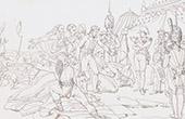 Napoléon Bonaparte devant Madrid - 1808 - Guerre d'Indépendance Espagnole (Gros)