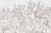 Death of the Marshal Lannes (1809) - Napoleonic Wars - Battle of Aspern-Essling