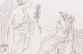 Allegori - Historia och Fred - Bas-relief - Marmor (Petitot)
