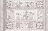 Mosaiken - Allegori - Seger av Napoleon I (Francesco Belloni)
