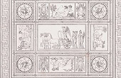 Mosaik - Allegorie - Siegen von Napoleon I. (Francesco Belloni)