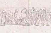 Bas-relief - Inskrivning av Volont�rerna - Fatherlanden i Fara - Franska Revolutionen Krigen - 1792