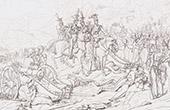Bataille de Somosierra (30 novembre 1808) - Guerres Napoléoniennes - Napoléon Ier - Espagne - Guerre d'Indépendance Espagnole (Horace Vernet)