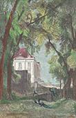 Vue de l'ancien Ch�teau de Bellevue - Meudon - Ile de France (Hauts-de-Seine - France)