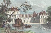 Ch�teau de Fontainebleau - Jardins - �tang des Carpes (France)