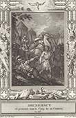 Torment of Brunhilda of Austrasia, Franks Queen (613)