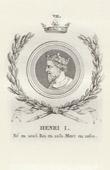 Medallion of Henry I of France (1008-1060)